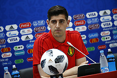 Belgium Training and Press Conference  - 17 June 2018