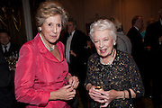 DAME NORMA MAJOR; JUNE WHITFIELD, 80th anniversary gala dinner for the FoylesÕ Literary Lunch. Ballroom. Grosvenor House Hotel. Park Lane. London. 21 October 2010. -DO NOT ARCHIVE-© Copyright Photograph by Dafydd Jones. 248 Clapham Rd. London SW9 0PZ. Tel 0207 820 0771. www.dafjones.com.<br /> DAME NORMA MAJOR; JUNE WHITFIELD, 80th anniversary gala dinner for the Foyles' Literary Lunch. Ballroom. Grosvenor House Hotel. Park Lane. London. 21 October 2010. -DO NOT ARCHIVE-© Copyright Photograph by Dafydd Jones. 248 Clapham Rd. London SW9 0PZ. Tel 0207 820 0771. www.dafjones.com.