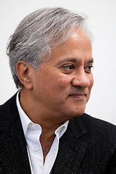 © Licensed to London News Pictures. 09/10/2012. LONDON, UK. Artist Anish Kapoor is seen at a press view ahead of his new exhibition at the Lisson Gallery in London today (09/12/12) . The exhibition, the first since the artists solo exhibition at the Royal Academy of the Arts in 2009, features new works by Kapoor and runs from the 10th of October to the 10th of November 2012. Photo credit: Matt Cetti-Roberts/LNP