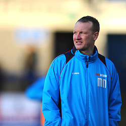 TELFORD COPYRIGHT MIKE SHERIDAN 29/12/2018 - Former AFC Telford United and TNS defender Martin Naylor, now on the coaching staff at Leamington, during the Vanarama Conference North fixture between AFC Telford United and Leamington at the New Bucks Head Stadium.