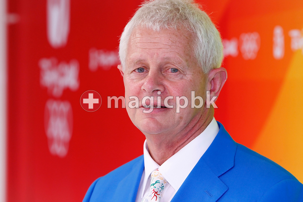 Prof. David Gerrard - member of FINA Sports Medicine - SMC - is pictured during a photo call held at the National Aquatics Center (Water Cube) at the Beijing 2008 Olympic Games in Beijing, China, Monday, Aug. 11, 2008. (Photo by Patrick B. Kraemer / MAGICPBK)