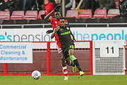 Forest Green Rovers Reece Brown(10) runs forward during the EFL Sky Bet League 2 match between Crawley Town and Forest Green Rovers at The People's Pension Stadium, Crawley, England on 6 April 2019.