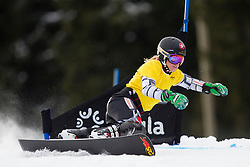 Ester Ledecka (CZE) during Semi-final Run of Ladies Parallel Giant Slalom at FIS Snowboard World Cup Rogla 2016, on January 23, 2016 in Course Jasa, Rogla, Slovenia. Photo by Urban Urbanc / Sportida