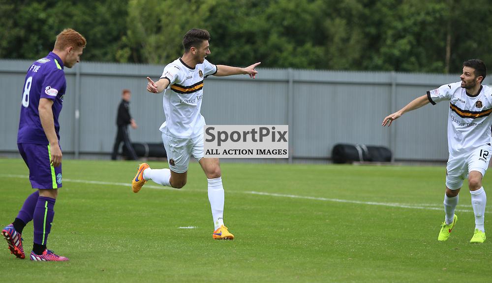 Gregor Buchanan celibates goal <br /> <br /> <br /> <br /> <br /> <br /> <br /> (c) Andy Scott | SportPix.org.uk