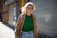 Bedazzled Sunglasses, Outside Self-Portrait SS2018
