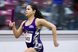 4x400 relay<br /> BU Terrier Indoor track meet