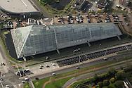 Luchtfoto van Crystalic in Leeuwarden.