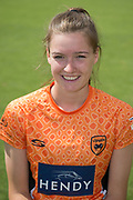 Lauren Bell of Southern Vipers during the Southern Vipers Press Day 2017 at the Ageas Bowl, Southampton, United Kingdom on 31 July 2017. Photo by David Vokes.
