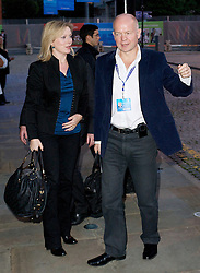 Foreign Secretary William Hague and his wife Ffion Arrive at The Conservative Party Conference hotel for the start of the Conservative Party Autumn Conference in Manchester, United Kingdom. Saturday, 28th September 2013. Picture by Elliot Franks / i-Images