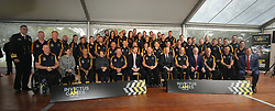 Prince Harry joins members of the Australian Invictus Games squad at the official launch of the Invictus Games Sydney 2018.