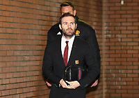 Football - 2019 / 2020 Premier League - Burnley vs. Manchester United<br /> <br /> Juan Mata of Manchester United arrives at Turf Moor.<br /> <br /> COLORSPORT