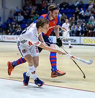 ROTTERDAM  - NK Zaalhockey . finale heren: SCHC-Amsterdam (2-2, SCHC wint shoot-outs) .Tijn Lissone (Adam)  .  COPYRIGHT KOEN SUYK