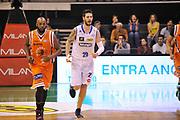 DESCRIZIONE : Treviso Lega due 2015-16  Universo Treviso De Longhi - Aurora Basket Jesi<br /> GIOCATORE : andrea ancelotti<br /> CATEGORIA : Esultanza<br /> SQUADRA : Universo Treviso De Longhi - Aurora Basket Jesi<br /> EVENTO : Campionato Lega A 2015-2016 <br /> GARA : Universo Treviso De Longhi - Aurora Basket Jesi<br /> DATA : 31/10/2015<br /> SPORT : Pallacanestro <br /> AUTORE : Agenzia Ciamillo-Castoria/M.Gregolin<br /> Galleria : Lega Basket A 2015-2016  <br /> Fotonotizia :  Treviso Lega due 2015-16  Universo Treviso De Longhi - Aurora Basket Jesi