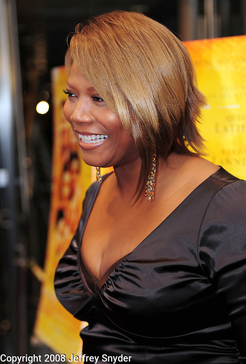"Queen Latifah attends screening of ""The Secret Life of Bees"""