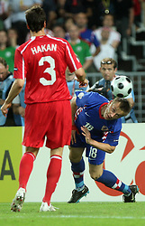 Ivica Olic of Croatia during the UEFA EURO 2008 Quarter-Final soccer match between Croatia and Turkey at Ernst-Happel Stadium, on June 20,2008, in Wien, Austria. Turkey won after penalty shots. (Photo by Vid Ponikvar / Sportal Images)