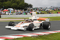 HSCC Gold Cup Oulton Park, Cheshire, United Kingdom.  28th-29th August 2011.  Race 12 HSCC Derek Bell Trophy.  1 Neil Glover - Lola T330/332. World Copyright: Peter Taylor/PSP. Copy of publication required for printed pictures. Every used picture is fee-liable.