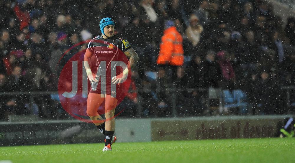 Exeter's Jack Nowell.  - Mandatory byline: Alex Davidson/JMP - 28/11/2015 - RUGBY - Sandy Park - Exeter, England - Exeter Chiefs v Harlequins - Aviva Premiership