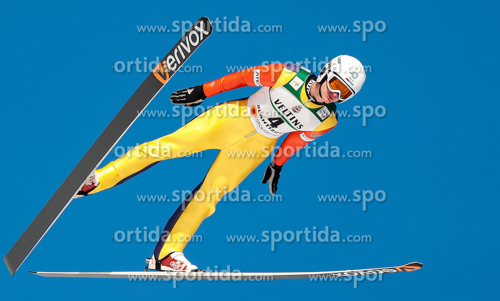 24.02.2017, Lahti, FIN, FIS Weltmeisterschaften Ski Nordisch, Lahti 2017, Nordische Kombination, Skisprung, im Bild Lukas Danek (CZE) // Lukas Danek of Czech Republic during Skijumping of Nordic Combined competition of FIS Nordic Ski World Championships 2017. Lahti, Finland on 2017/02/24. EXPA Pictures © 2017, PhotoCredit: EXPA/ JFK