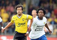 27-05-2007: Voetbal: VVV Venlo - RKC Waalwijk: Venlo<br /> RKC Waalwijk is gedegradeerd naar de Jupiler League.<br /> Milano Koenders en Dirk Jan Derksen geconcentreerd op het duel<br /> foto : Geert van Erven