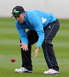 Somerset's Tom Cooper - Photo mandatory by-line: Harry Trump/JMP - Mobile: 07966 386802 - 07/04/15 - SPORT - CRICKET - Pre Season - Somerset v Lancashire - Day 1 - The County Ground, Taunton, England.