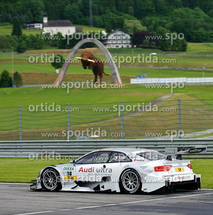 01.06.2012, Red Bull Ring, Spielberg, AUT, DTM Red Bull Ring, im Bild Adrien Tambay, (FRA, Audi Sport Team Abt) // duringthe DTM training day on the Red Bull Circuit in Spielberg, 2012/06/01, EXPA Pictures © 2012, PhotoCredit: EXPA/ S. Zangrando