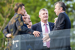 Zvonimir Boban (Croatia), Davor Suker (Croatia), Dejan Savicevic (Montenegro) during Official opening of the Slovenian National football centre Brdo (Nacionalni nogometni center Brdo), on May 6, 2016, in Brdo pri Kranju, Slovenia. Photo by Vid Ponikvar / Sportida