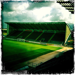 Falkirk Stadium..Hipstamatic images taken on an Apple iPhone..©Michael Schofield.