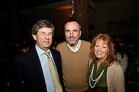 Andrew Wilkinson, David and Annie Munns, Nordoff Robbins Carol Service  2011 sponsored by Coutts. London..Wednesday, 14. Dec 2011