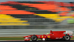 23.10.2010, Korea International Circuit, Yeongam, KOR, F1 Grandprix of Korea, im Bild Felipe Massa (BRA), Scuderia Ferrari, EXPA Pictures © 2010, PhotoCredit: EXPA/ InsideFoto/ Hasan Bratic *** ATTENTION *** FOR AUSTRIA AND SLOVENIA USE ONLY!