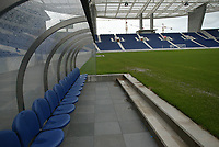 PORTO-09 DEZEMBRO:PITCH (Relvado) do Est‡dio do Drag‹o, que alberga a equipa do F.C.Porto e o EURO 2004, 09/12/03  no est‡dio do Drag‹o.<br />(PHOTO BY: AFCD/JOSƒ GAGEIRO)