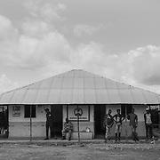 Customs offices in Pirada, border between Guinea Bissau and Senegal.<br /> <br /> Oficinas aduaneras en Pirada, frontera entre Guinea Bissau y Senegal.