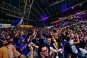 Tifosi Brindisi<br /> Umana Reyer Venezia - Happy Casa Brindisi<br /> LBA Final Eight 2020 Zurich Connect - Finale<br /> Basket Serie A LBA 2019/2020<br /> Pesaro, Italia - 16 February 2020<br /> Foto Mattia Ozbot / CiamilloCastoria