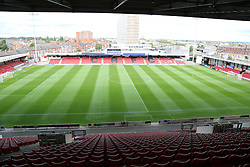 General view of The Alexandra Stadium  - Photo mandatory by-line: Joe Dent/JMP - Tel: Mobile: 07966 386802 07/09/2013 - SPORT - FOOTBALL -  Alexandra Stadium - Crewe - Crewe Alexandra V Peterborough United - Sky Bet League One