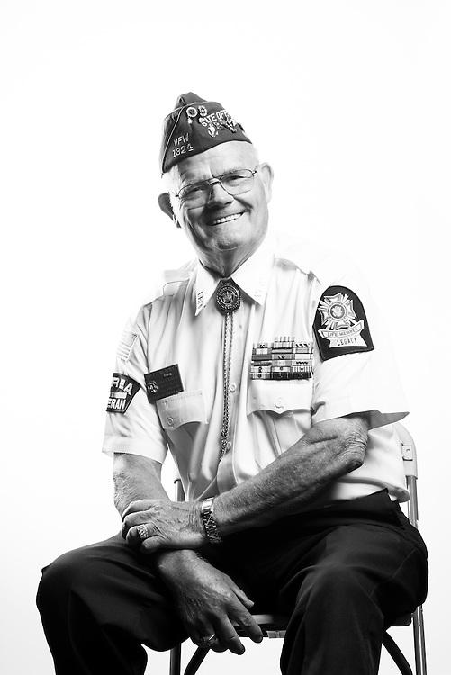 James E. McDonald<br /> Navy<br /> E-7<br /> Sonar Technician, Computers<br /> 1948 - 1952<br /> 1964 - 1989<br /> Korea<br /> <br /> Veterans Portrait Project<br /> St. Louis, MO