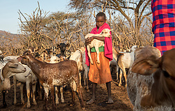 """For pastoralists like the #Samburu, more grass means more food for their cattle—one reason indigenous communities have begun relating to elephants, animals long feared, in a new way. The loss of elephants has a ripple effect on other animals and the people co existing with them. Elephants are the ecosystem's """"engineers"""" who feed on low brush and bulldoze small trees, promoting growth of grasses, which in turn attract bulk grazers like buffalo, endangered Grevy's zebras, eland, and oryx, themselves prey for carnivores: lions, cheetahs, wild dogs, leopards.<br /> <br /> The Samburu are the force behind northern Kenya's Reteti Elephant Sanctuary (@r.e.s.c.u.e), the first ever community-owned and run elephant sanctuary in Africa. The sanctuary provides a safe place for injured elephants to heal and later, be returned back to the wild. You can support this incredible place and the people who protect wildlife. Make a $10 contribution in support of Reteti for a chance to win a trip to Kenya, see Dave Matthews in concert and take home Dave's guitar with @prizeo (Link in profile). Not only will you be helping care for orphaned baby elephants and strengthening community ties, you'll also have a chance to win a life-changing trip to see the sanctuary in person. The first $10,000 in funds raised will be generously matched by Elephant Gems (@elephantgems).<br /> <br /> Reteti operates in partnership with Conservation International (@conservationorg) who provide critical operational support and work to scale the Reteti community-centered model to create even bigger, lasting impacts worldwide. <br /> <br /> Photo by @amivitale."""