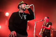 Die Beatsteaks auf Creepmagnet Tour 2014 in der  Swiss Life Hall in Hannover am 03.December 2014. Foto: Rüdiger Knuth