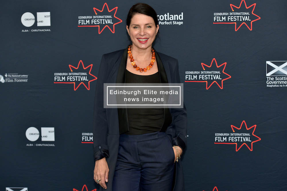 Sadie Frost (International Juror) joins the jury  line up for the 2016 Edinburgh International Film Festival at  The Apex Hotel Grassmarket, Edinburgh17th June 2016, (c) Brian Anderson | Edinburgh Elite media