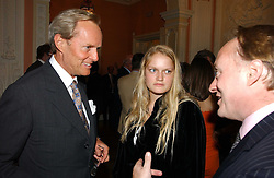 The MARQUESS OF DOURO and his daughter LADY MARY WELLESLEY at a party to celebrate the publication of 'A History of The English Speaking Peoples Since 1900' hosted by Andrew Roberts and Susan Gilchrist at the English-Speaking Union, 37 Charles Street, London W1 on 11th September 2006.<br /><br />NON EXCLUSIVE - WORLD RIGHTS