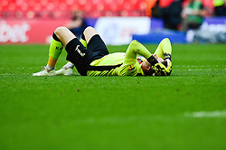 Christy Pym of Exeter City cuts a dejected figure after losing the Sky Bet League Two play-off final - Mandatory by-line: Dougie Allward/JMP - 28/05/2018 - FOOTBALL - Wembley Stadium - London, England - Coventry City v Exeter City - Sky Bet League Two Play-off Final
