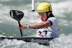 Eva Alina HOCEVAR of Slovenia during the Canoe Single (WK1) Womens Semi Final race of 2019 ICF Canoe Slalom World Cup 4, on June 28, 2019 in Tacen, Ljubljana, Slovenia. Photo by Sasa Pahic Szabo / Sportida