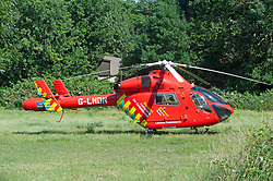 ©Licensed to London News Pictures 26/06/2020 Orpington, UK. London Air Ambulance attends the scene of a gang attack in South East London. Photo credit: Grant Falvey/LNP