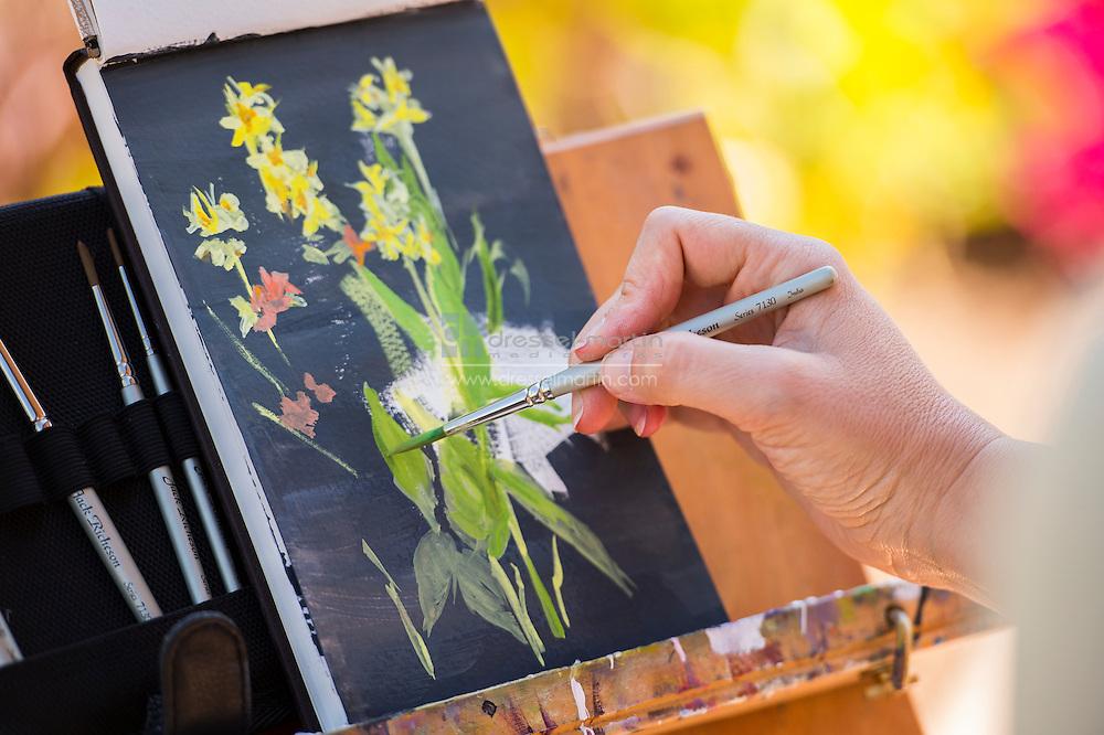 botanical illustration class with James Gurney