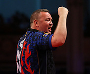 Glen Durrant during the last 8 World Matchplay Darts 2019 at Winter Gardens, Blackpool, United Kingdom on 25 July 2019.