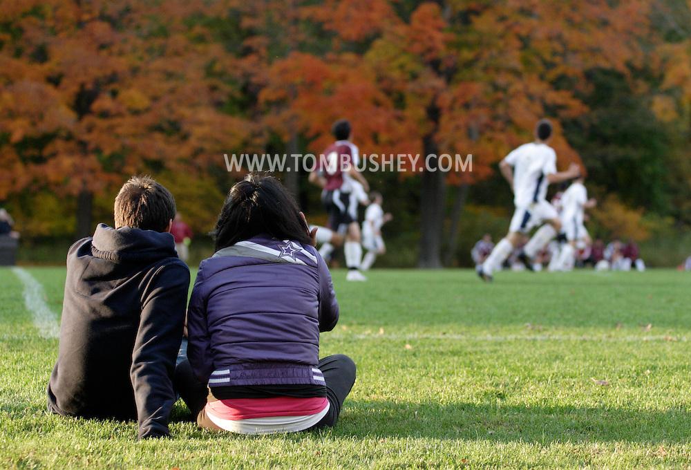 Beacon, NY - Beacon plays Ossining in a boys' soccer game in Beacon on Oct. 16, 2008.