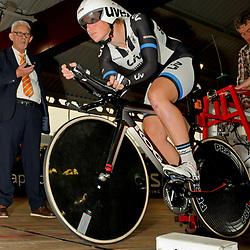 Tijdrit 500meter onderdeel NK Omnium , Ook hier Winst voor Kirsten Wild met een tijd van 38.047