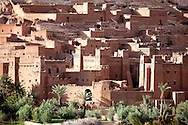 UNESCO World heritage site ksar and kasbah Ait Ben Haddou, Morocco.