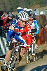 29-01-2006 WIELRENNEN: UCI CYCLO CROSS WERELD KAMPIOENSCHAPPEN ELITE: ZEDDAM <br /> Jody Crawforth (GBR)<br /> ©2006-WWW.FOTOHOOGENDOORN.NL