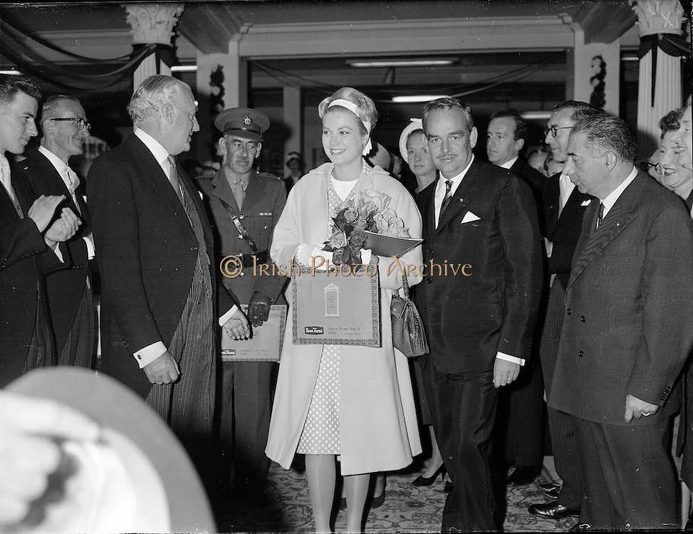 Prince Rainier and Princess Grace visit Ireland.11-12.06.1961