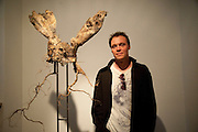 DOUGLAS WHITE, New Symphoney.-  Simon Oldfield Gallery launch. First Floor, 9 Henrietta Street, WC2E.. -DO NOT ARCHIVE-© Copyright Photograph by Dafydd Jones. 248 Clapham Rd. London SW9 0PZ. Tel 0207 820 0771. www.dafjones.com.
