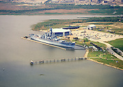 Aerial Photographs of  USS Alabama, BB-60, Battleship Memorial park | Mobile, AL